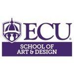 ECU School of Art Design - logo