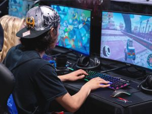 eSports player