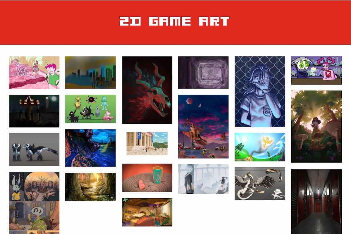 2D Game Art Contest entries